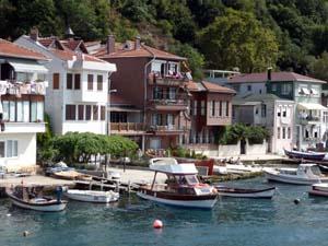 Yalis - Casas à beira do Estreito de Bósforo