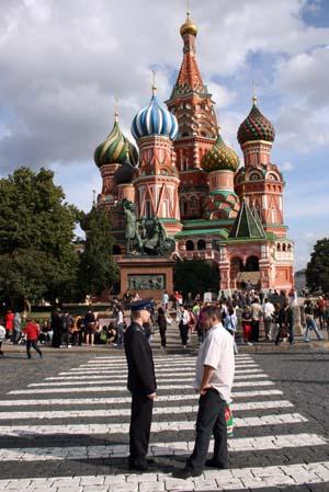 Moscou - Catedral de Sao Basilio