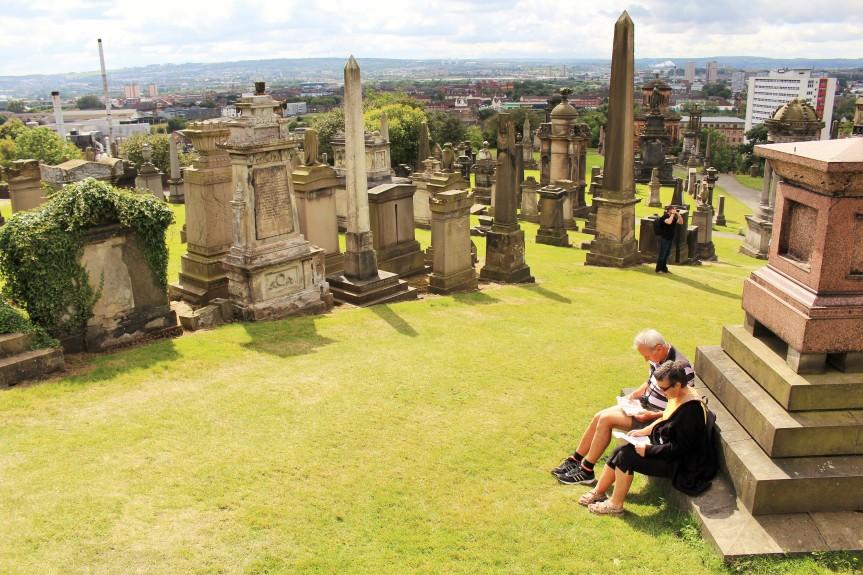 Necrópolis de Glasgow, Escócia