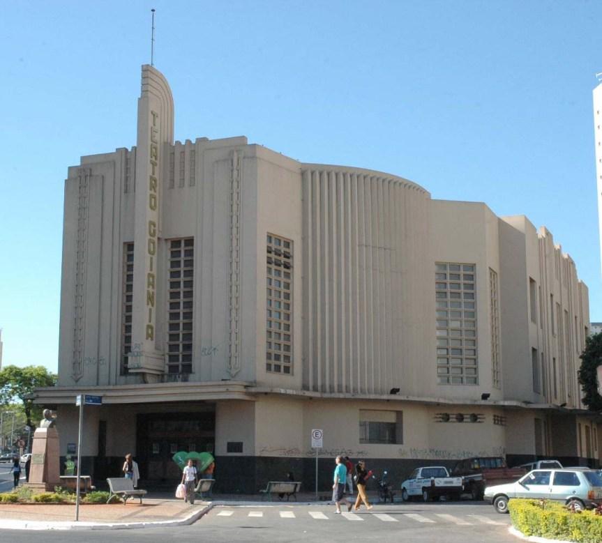 Fachada do Teatro Goiânia